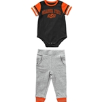 FLAVIO INFANT BOYS BASEBALL ONESIE SET