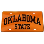 OK STATE ARCH LICENSE PLATE