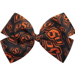 ALLOVER OSU PRINT BOW