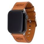 OSU LEATHER BAND FOR APPLE WATCH
