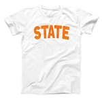 WHITE STATE SIMPLE TEE