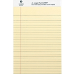 JR. LEGAL PAD - YELLOW, SINGLE