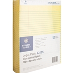 LEGAL PAD - YELLOW, 12 PACK