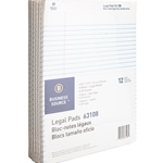 LEGAL PAD - WHITE, 12 PACK