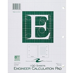 ENGINEER CALCULATION PAD - 100 SHEETS