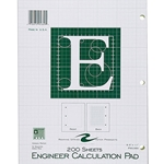 ENGINEER CALCULATION PAD - 200 SHEETS