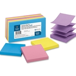 ADHESIVE POP-UP NOTES - 3X3, EXTREME, 12 PACK