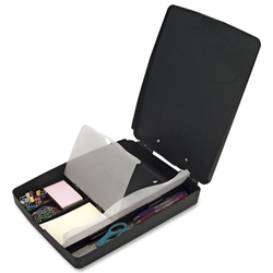 Officemate Extra Storage/Supply Clipboard Box