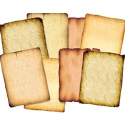 Roylco Antique Design Parchment-style Papers PAPER,ANTIQUE DESIGN,32 SHT  (ASSORTED) (PK)