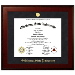 DOCTORAL HONOR DIPLOMA FRAME