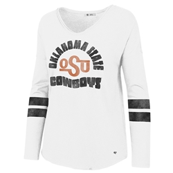 '47 LETTER COURTSIDE LONG SLEEVE TEE