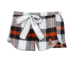 HEADWAY PLAID SHORT SATIN TIE