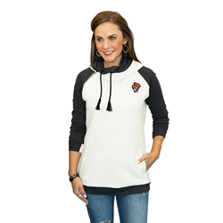 GAMEDAY COUTURE FUNNEL NECK PULLOVER