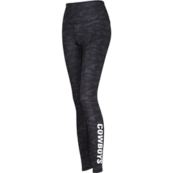 BLACK DEDICATION CAMO LEGGING