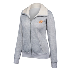GREY LOVELAND FULL ZIP JACKET