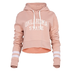 BENCHMARK BLUSH CROPPED HOOD