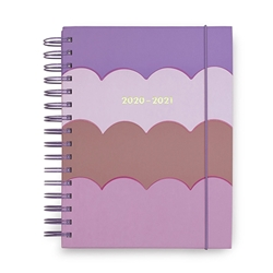 KATE SPADE 17 MONTH LARGE PLANNER - SCALLOP