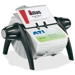 Shopokstate durable visafix flip rotary business card file durable visafix flip rotary business card file colourmoves